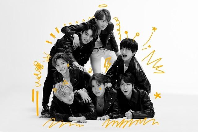 방탄소년단이 지난달 21일 발표한 네 번째 정규 앨범 MAP OF THE SOUL : 7으로 2월에만 411만 장의 판매고를 올렸다. /빅히트엔터 제공