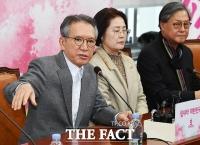 [TF포토] 김형오 공관위원장, '사퇴합니다'