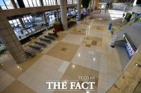[TF포토] 텅 빈 김포국제공항