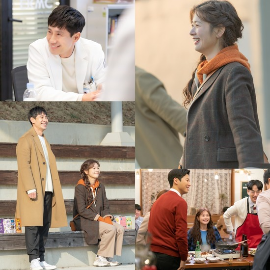 배우 신하균과 정소민이 화기애애한 분위기 속에 KBS2 영혼수선공 첫 촬영을 시작했다. /몬스터유니온 제공