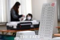 [TF포토] 투표지분류기 시험운영하는 선관위