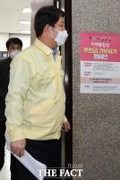[TF포토] 심재철 원내대표 찾은 권영진 대구시장