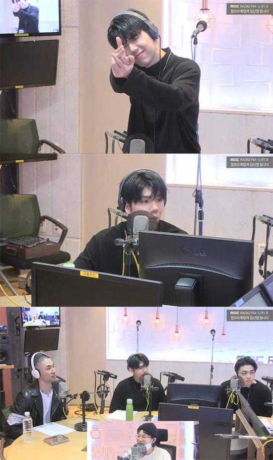 가호는 지난 5일 방송된 MBC 라디오 FM4U 정오의 희망곡 김신영입니다에 출연해 자신의 보컬에 대해 힘을 줄 수 있는 호소력 짙은 목소리가 매력이라고 생각한다고 말했다. /방송캡처