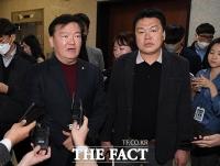 [TF사진관] '컷오프' 됐던 민경욱, '경선 승리하고 공천 확정'