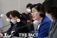 [TF사진관] '텔레그램 N번방 사건 논의하는 이정옥 여성가족부 장관'