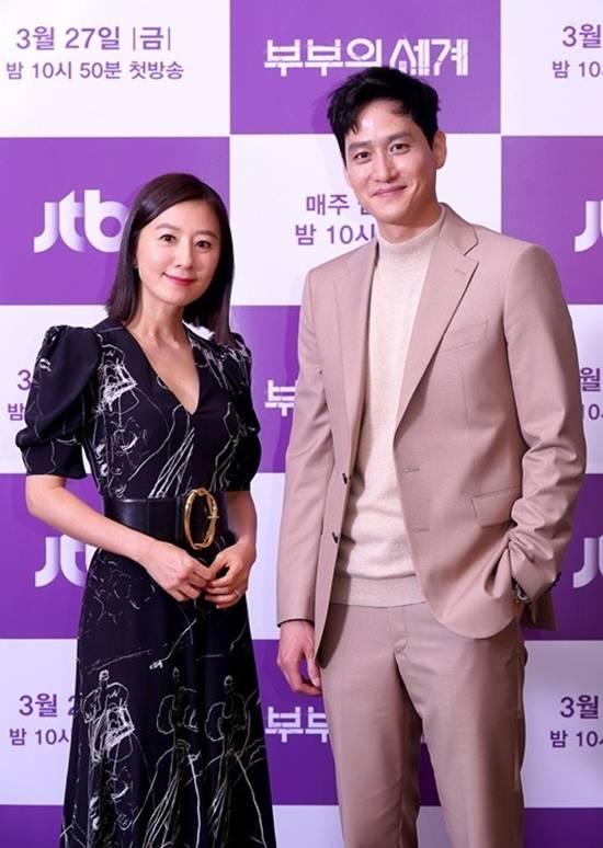 김희애는 박해준의 연기력을 칭찬하며 괴물 같은 느낌이다라고 말했다. /JTBC 제공