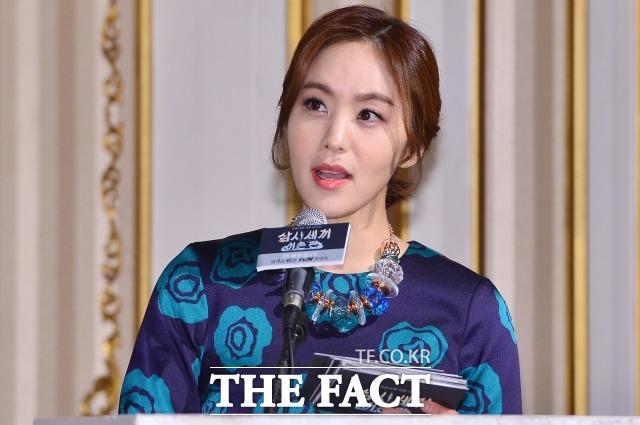 박지윤 아나운서가 자신의 법률대리인 법무법인 대호 통해 최근 있었던 논란에 대한 사과의 뜻을 밝혔다. /남윤호 기자