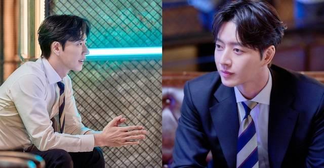배우 박해진은 MBC 꼰대인턴에서 워너비 상사로 평가받는 완벽한 부장 가열찬 역을 맡았다. /MBC 제공