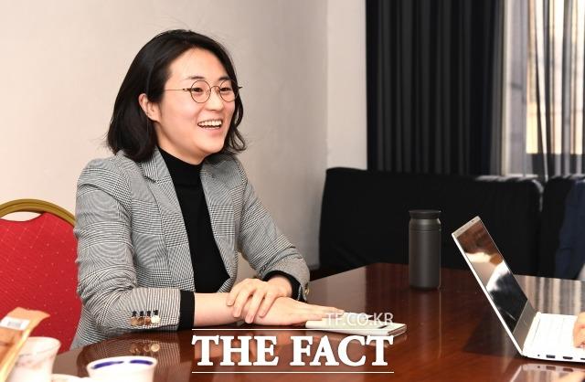 신 후보는 녹색당의 비례연합정당 참여 논의에 대해 실망감을 드러내며 8년 간 몸담았던 당을 떠났다. /임세준 기자