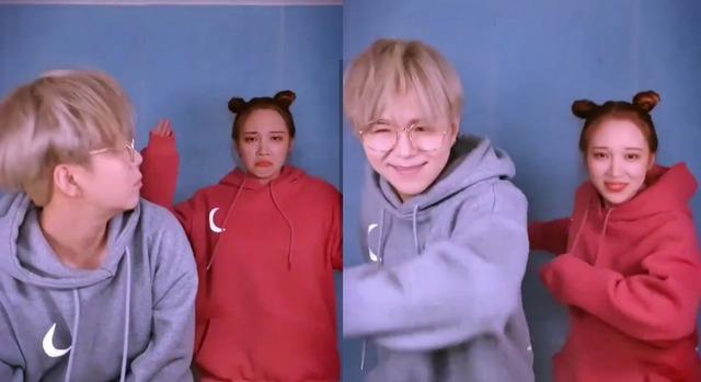 문에스더와 송유진은 지난 1월 지코의 아무노래 챌린지 영상을 함께 촬영해 공개했다. /영상 캡처