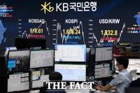 [TF포토] '환율 2.9원 상승, 코스피 하락'…분주한 딜링룸