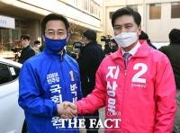 [TF사진관] 박성준-지상욱, '선의의 경쟁하겠습니다!'