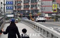 [TF사진관] 민식이법이 시행됐어도...'쌩쌩 달리는 차량들'