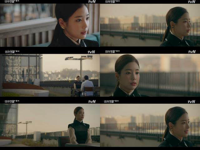 배우 기은세가 tvN 슬기로운 의사생활에 특별 출연해 존재감을 뽐냈다. /tvN 슬기로운 의사생활 캡처