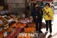 [TF사진관] 추혜선, '부드러운 공감 정치, 따뜻한 안양을 위해'