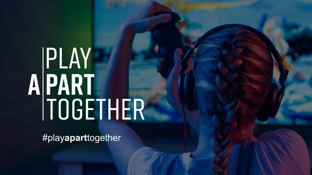 세계보건기구 플레이 어파트 투게더 캠페인에는 18개 글로벌 게임업체가 참여하고 있다. /유니티 제공