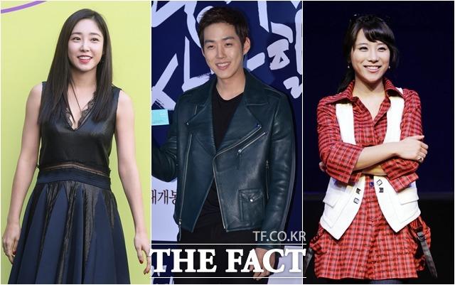 방송인 최희, 배우 백성현, 그룹 쥬얼리 출신 조민아(왼쪽부터)는 4월 결혼식을 올린다. 잇달아 전해진 기쁜 소식에 대중이 축하를 보내고 있다. /더팩트DB