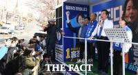 [TF사진관] '고양시 지원사격' 나선 이낙연 더불어민주당 상임선대위원장
