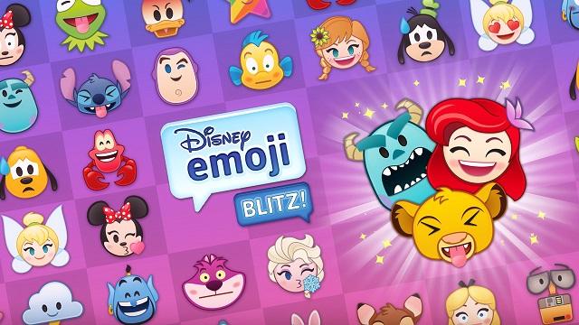 넷마블이 일본에 선보인 디즈니 이모지 블리츠는 겨울왕구, 알라딘 등 디즈니 캐릭터를 소재로 한 3매칭 퍼즐 게임이다. /넷마블 제공
