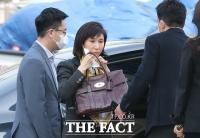 [TF사진관] 첫 변론기일 참석하는 노소영, '최태원 회장은 불참'