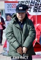 [TF포토] 단식 중 산책하는 홍문종 대표