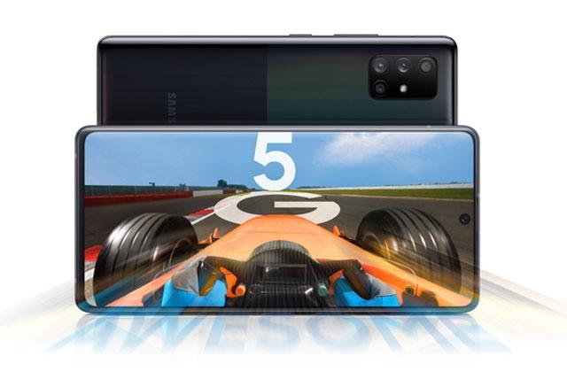 삼성전자는 9일 글로벌뉴스룸을 통해 중저가 라인 5G 스마트폰 갤럭시A71 5G와 갤럭시A51 5G를 공개했다. /삼성전자 뉴스룸 캡처