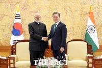 文대통령·인도 총리