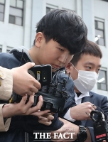 [TF포토] 검찰 송치되는 '부따' 강훈