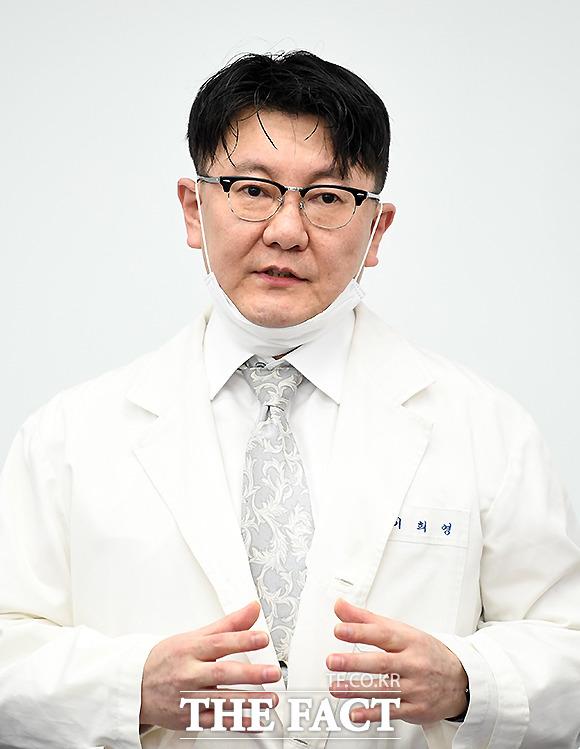 이희영 대한줄기세포치료학회장