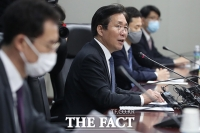 [TF포토] 모두 발언하는 성윤모 장관