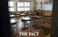 [TF사진관] '학생들 기다리는 텅 빈 교실'