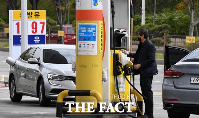 22일(현지 시각) 뉴욕상업거래소(NYMEX)에서 6월 인도분 서부 텍사스산 원유(WTI)는 배럴당 19.1%(2.21달러) 상승한 3.78달러에 장을 마감했다./임세준 기자