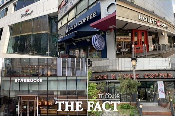 스타벅스, 이디야, 할리스커피 등 국내 주요 커피프랜차이즈 업체들이 소비자들의 발길을 잡기 위한 마케팅의 일환으로 특정 기간 별도의 메뉴를 판매하는 시즌 한정 메뉴를 선보이고 있다. /문수연 기자