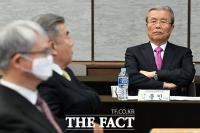 [TF사진관] 미래통합당 고민에 빠진 김종인