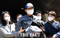 [TF포토] '라임사태' 질문 받은 김봉현 전 스타모빌리티 회장