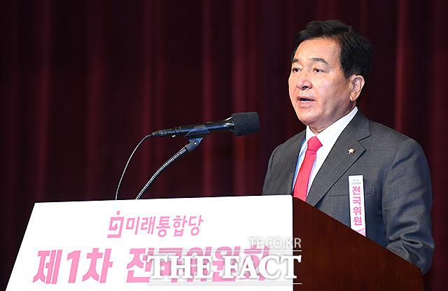 발언하는 심재철 미래통합당 대표 권한대행