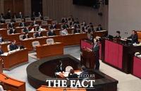 [TF사진관] 재난지원금 추경안 관련 제안설명 하는 정세균 총리