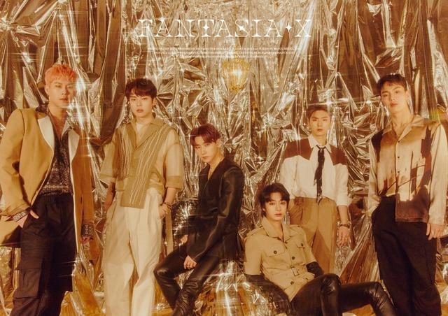 몬스타엑스가 멤버 셔누의 허리 통증으로 인해 새 앨범 발매를 11일에서 26일로 2주 미뤘다. 제일 오른쪽이 셔누. /스타쉽엔터 제공