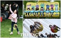 [TF사진관] '오늘은 우리들의 세상!'...즐거운 시간 보내는 어린이들