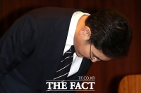 [TF포토] 고개숙여 사과하는 이재용 부회장