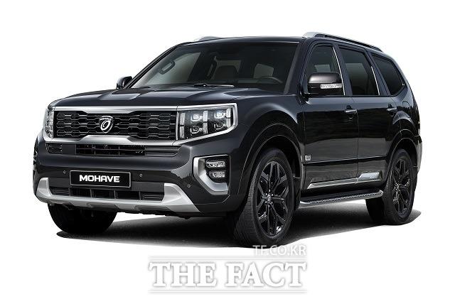기아차는 7일 대형 SUV 신형 모하비의 디자인 차별화 모델 그래비티를 출시했다고 밝혔다. /기아차 제공