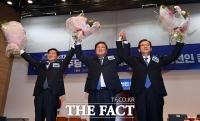 [TF포토] 21대 국회 더불어민주당 제1기 원내대표에 선출된 김태년 의원
