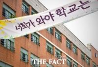 [TF사진관] 코로나 재확산…'등교 앞두고 애타는 고등학교'