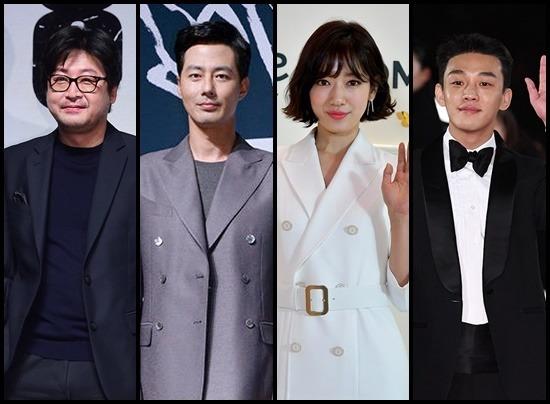 김윤석 조인성은 모가디슈로, 유아인 박신혜는 #얼론으로 뭉친다. /더팩트 DB