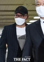[TF사진관] '국정농단' 혐의 차은택 선고 공판 출석