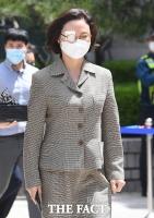 [TF사진관] 석방 후 첫 불구속 재판 참석한 정경심 교수