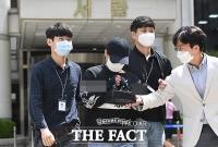 [TF포토] 영장실질심사 마친 n번방 자경단 자처 '주홍글씨'