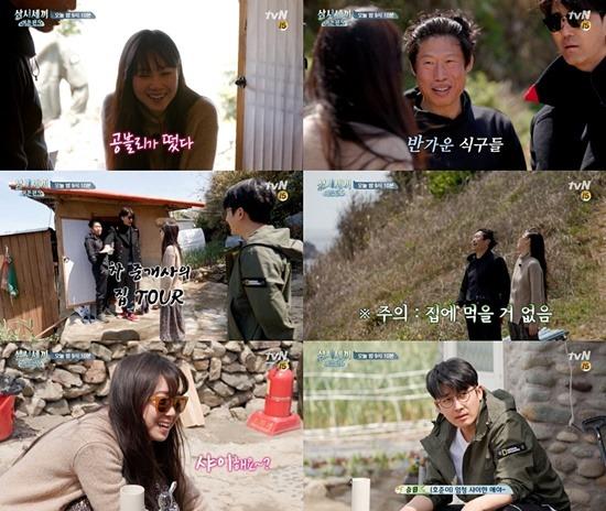 공효진의 좌충우돌 섬 생활이 베일을 벗는다. /tvN 제공