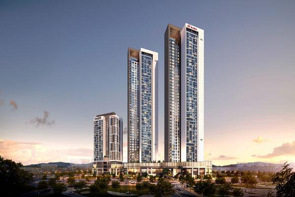 힐스테이트 청량리 더퍼스트는 지하 5층~지상 최고 43층, 3개동, 전용면적 37~84㎡, 총 486실 규모다. /현대엔지니어링 제공