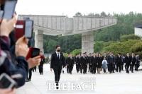 [TF포토] 5·18 민주묘지 찾은 문재인 대통령